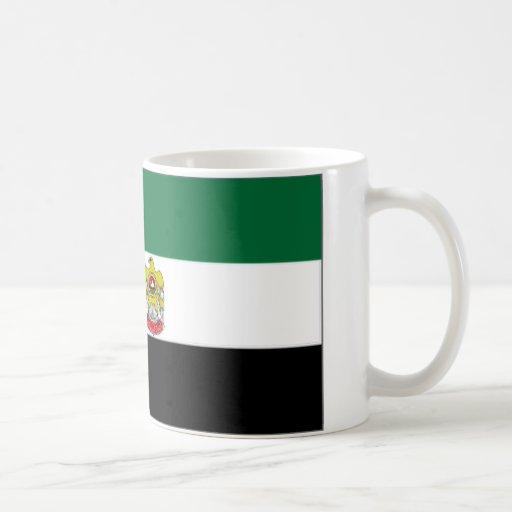 United Arab Emirates Head of State Flag Coffee Mugs