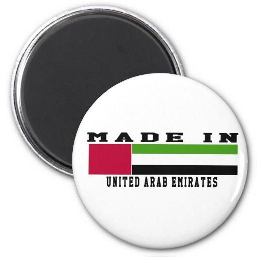 United Arab Emirates hicieron en diseños Imán De Nevera