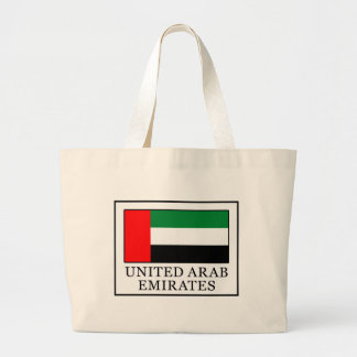 United Arab Emirates Large Tote Bag