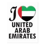 United Arab Emirates Love Post Cards