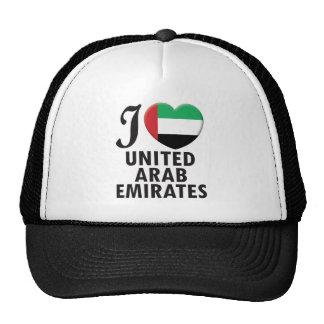 United Arab Emirates Love Trucker Hat