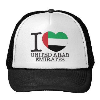 United Arab Emirates Love v2 Hats