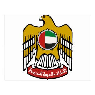 United Arab Emirates National Emblem Postcard