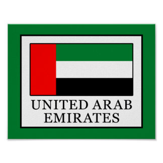 United Arab Emirates Poster