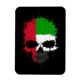 United Arab Emirates que gotean el cráneo de la sa Imanes Flexibles