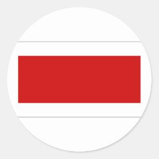 United Arab Emirates Rass al Khaimah Flag Classic Round Sticker
