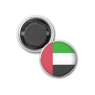 United Arab Emirates redondos Imán De Frigorifico