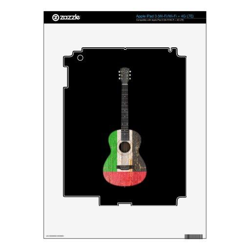 United Arab Emirates señalan la guitarra acústica  iPad 3 Skin