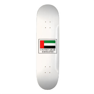 United Arab Emirates Skateboard Deck