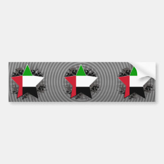 United Arab Emirates Star Bumper Stickers