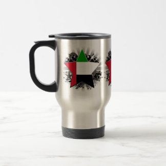 United Arab Emirates Star Coffee Mugs