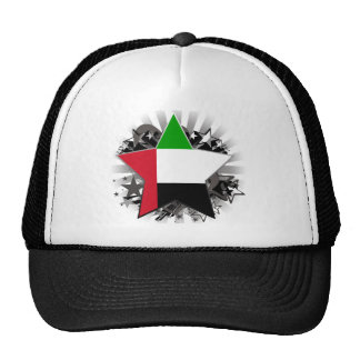 United Arab Emirates Star Mesh Hat