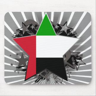 United Arab Emirates Star Mousepad