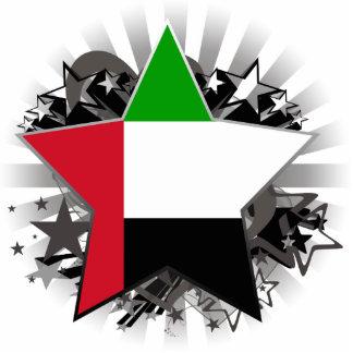 United Arab Emirates Star Photo Sculptures