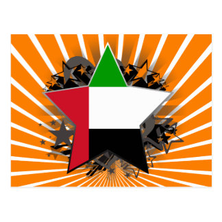 United Arab Emirates Star Post Card