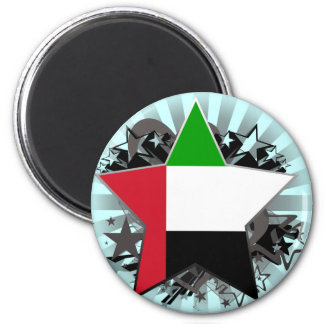 United Arab Emirates Star Refrigerator Magnets