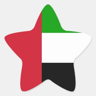 United Arab Emirates Star Sticker