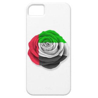 United Arab Emirates subió la bandera en blanco iPhone 5 Case-Mate Protector