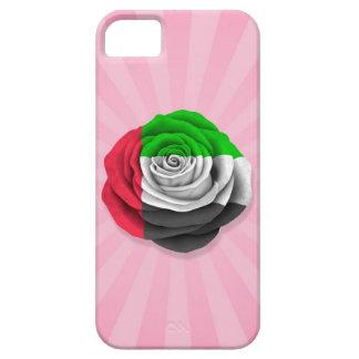 United Arab Emirates subió la bandera en rosa iPhone 5 Case-Mate Cárcasa