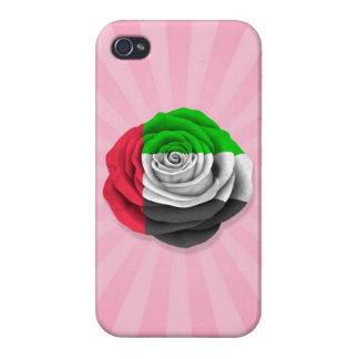 United Arab Emirates subió la bandera en rosa iPhone 4/4S Carcasa