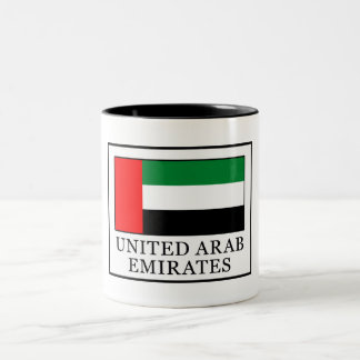 United Arab Emirates Two-Tone Coffee Mug