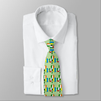 United Arab Emirates, Ukraine, Ireland Shamrock Tie