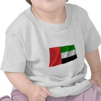 United Arab Emirates Waving Flag Shirt