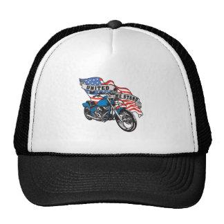 United Biker Trucker Hat