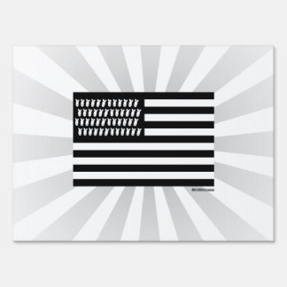 United Bombs Flag Sign