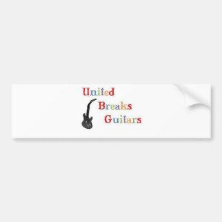 United Breaks Guitars Bumper Sticker