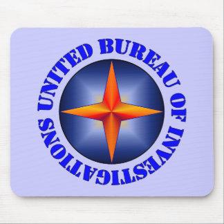 United Bureau of Investigations Mouse Pad
