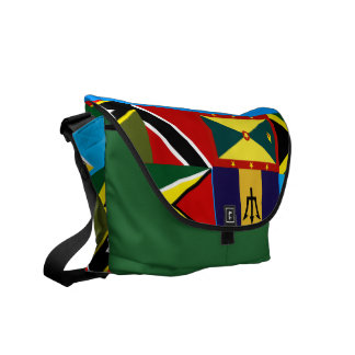 United caribbean messenger bags