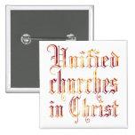 United Churches in Christ Pins