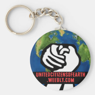 United Citizens of Earth Keychain