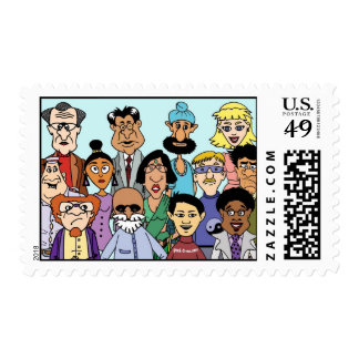 United Colors of America stamp!