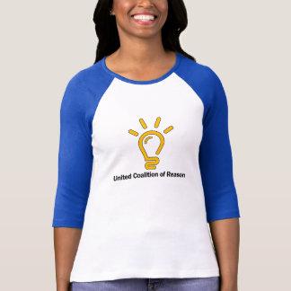 "United CoR ""Reasonable Person"" ladies 3/4 ringer T-Shirt"