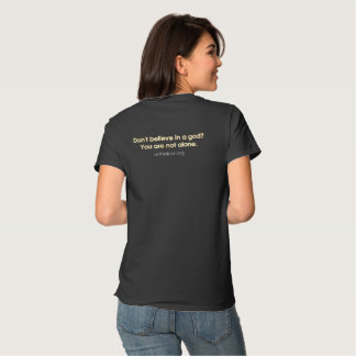 "United Cor ""You are not alone"" ladies dark tee"