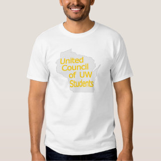 United Council New Logo Gold on Grey Shirt