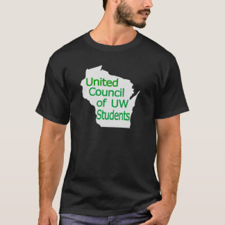 United Council New Logo Green on Grey T-Shirt