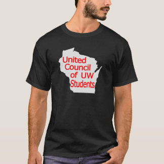 United Council New Logo Red on Grey T-Shirt