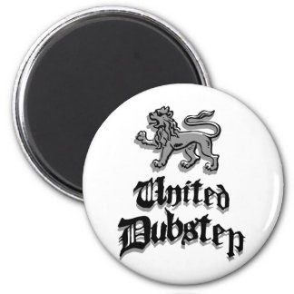 United Dubstep 2 Inch Round Magnet