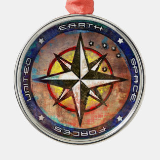 United Earth Metal Ornament