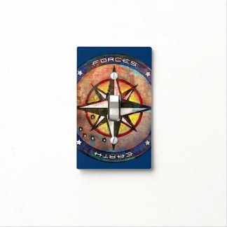 United Earth Space Forces (color) Light Switch Plates