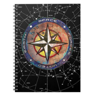 United Earth Space Forces (color) Notebook