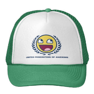 United Federation of Awesome Trucker Hat