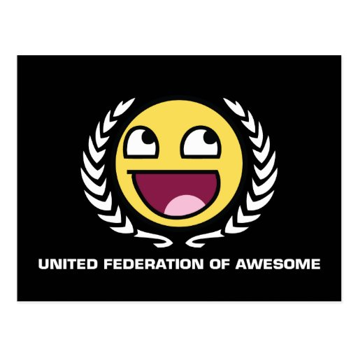 United Federation of Awesome Postcard