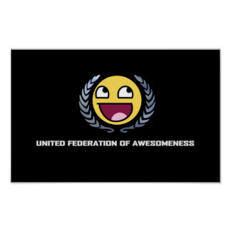 United Fesderation of Awesomeness Poster