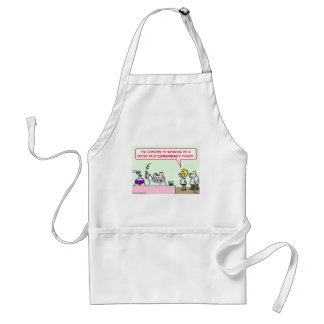 united field conspiracy theory scientists science adult apron
