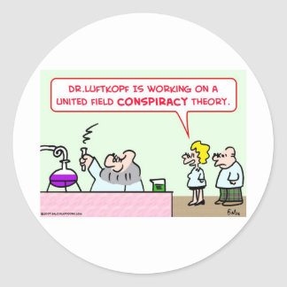 united field conspiracy theory scientists science sticker