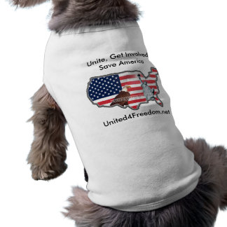 United for Freedom Pet Sweater Tee